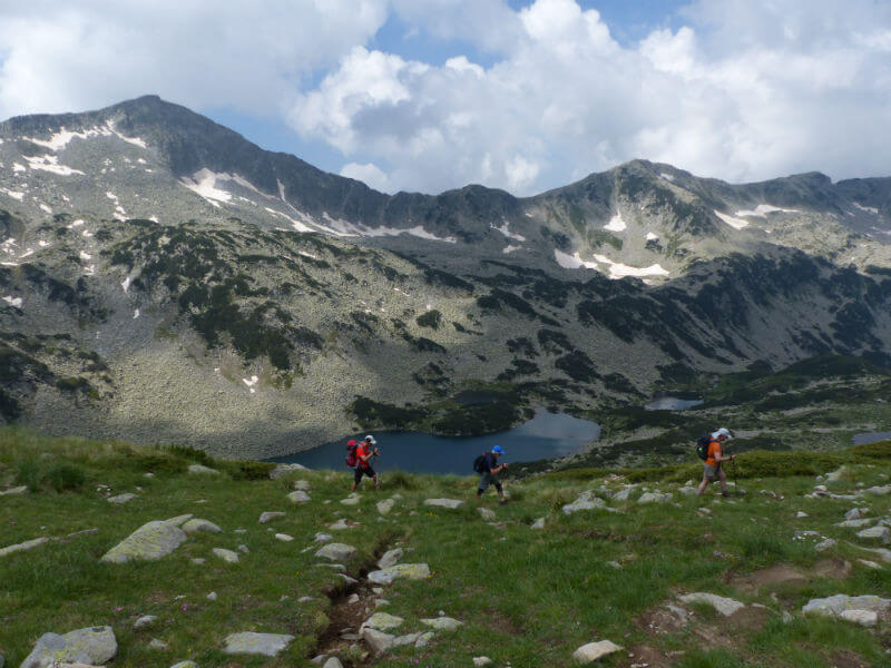 Summits and Lakes of the Rila and Pirin Mountains (Self-guided trek)