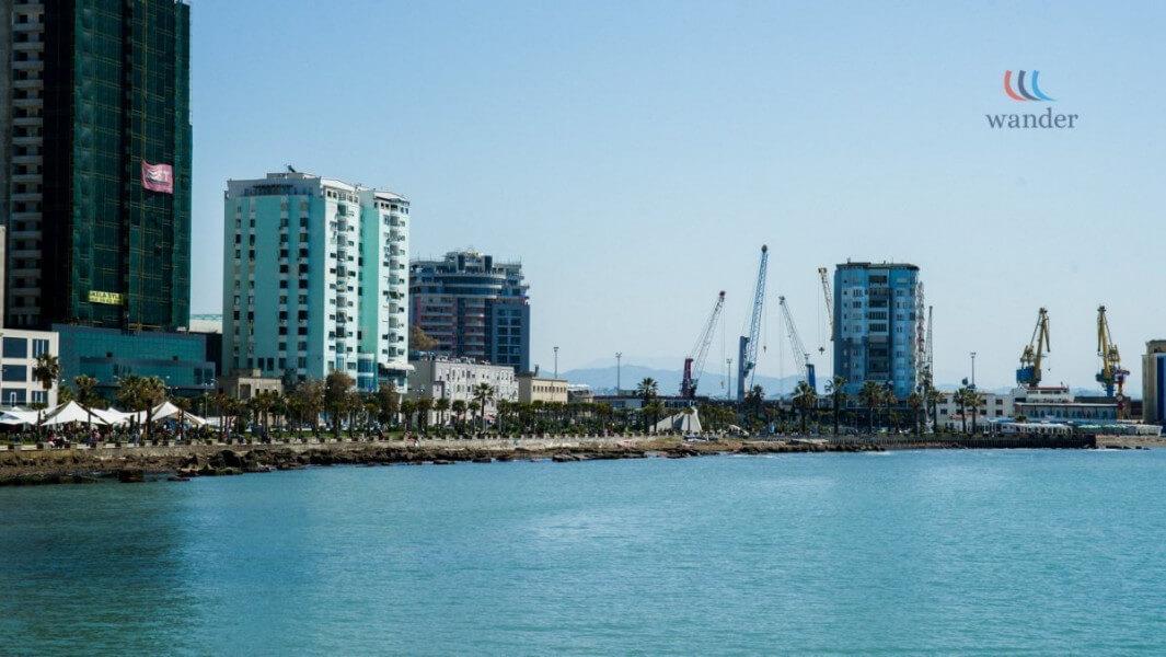 Visiting Durres and Tirane