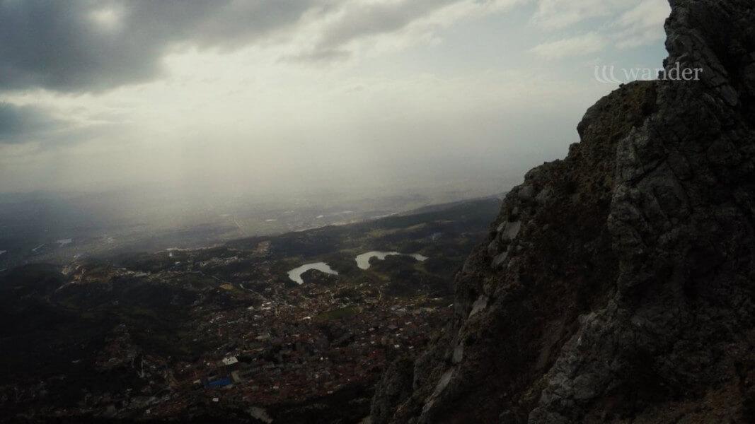 Arrival and visit Kruje