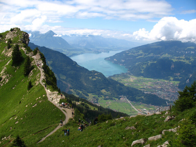 Past the Swiss capital and into fairytal