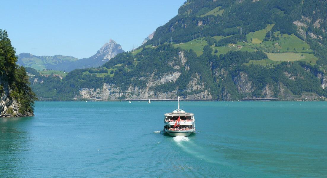 Interlaken to Lucerne and Zurich