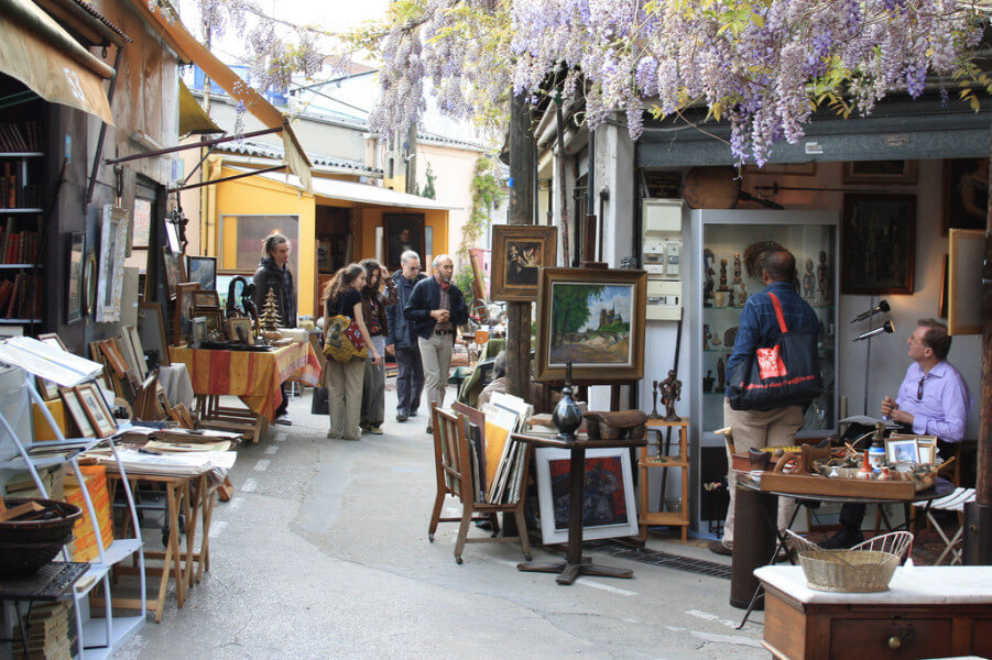 Treasure hunting in Paris