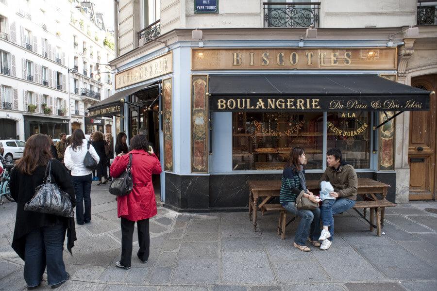 Walking on the sweet side of Paris