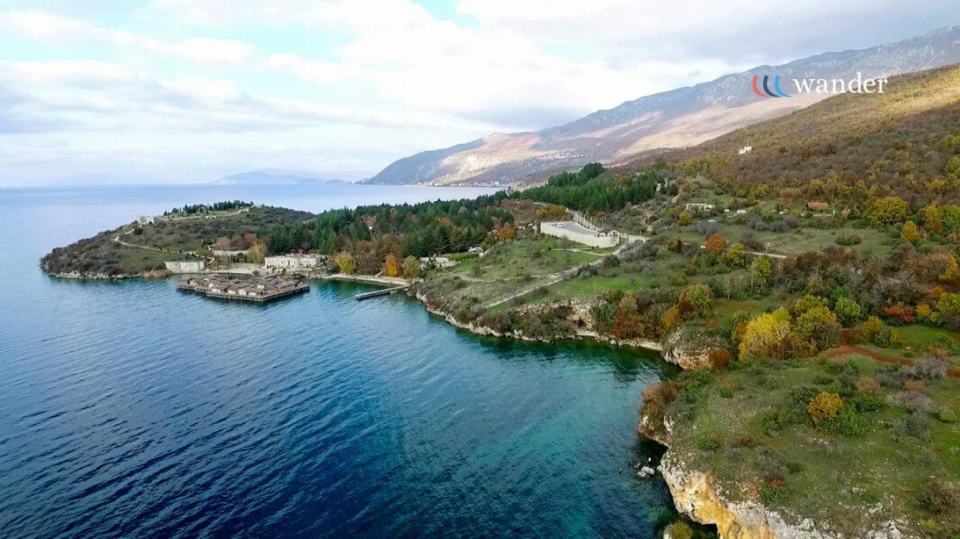 Arrival and travel toward Ohrid Lake