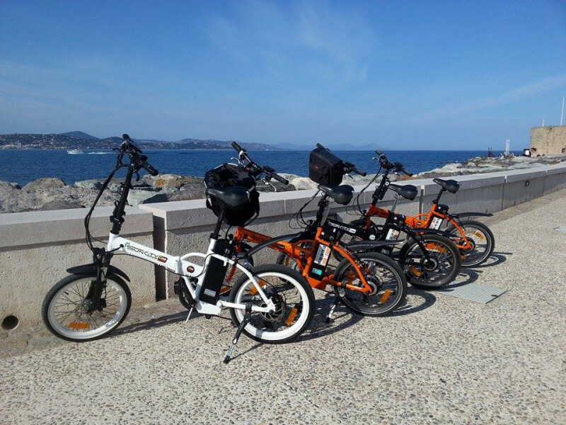Antibes and electric bicycles