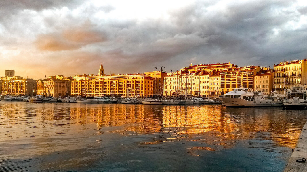 The French Riviera - Nice - Marseille or vice versa