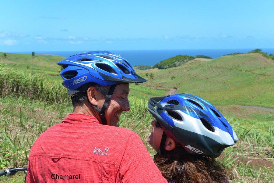 Electro Bike Ride at Chamarel