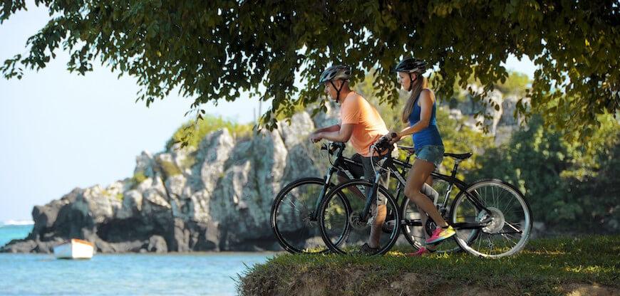 Electro Bike Ride at Le Morne Brabant