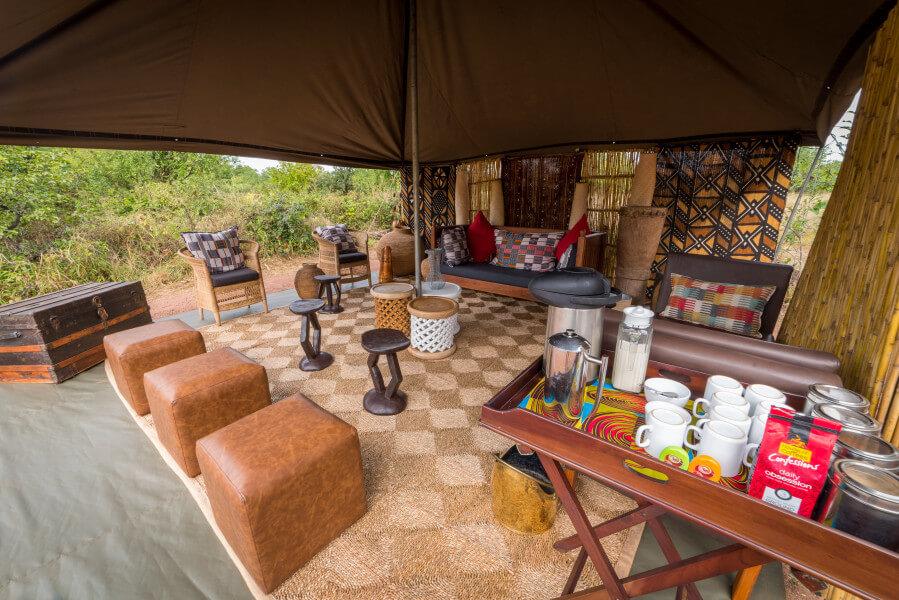 Victoria Falls to Hwange Bush Camp