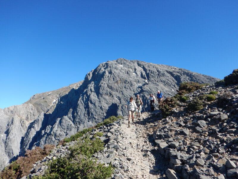 Ascend Mt. Gigilos at 2080m.