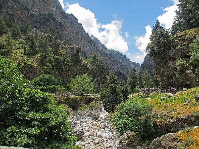 Walk through Samaria gorge