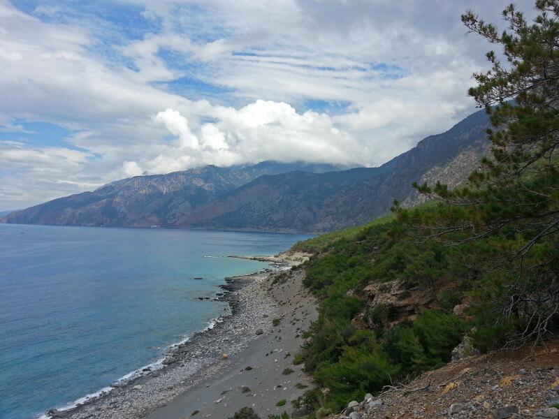 Walk the coastal path to the village of