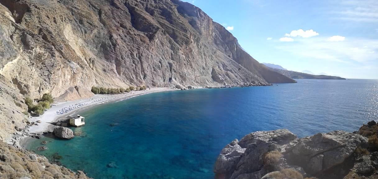Walk the coastal path to Chora Sfakion
