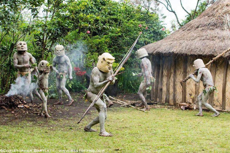 Mudmen Sing Sing