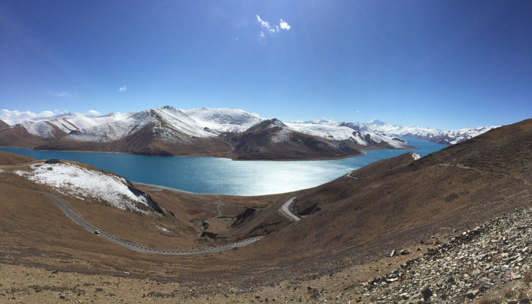 Day trip to Yamdrok lake (4470m/100km)