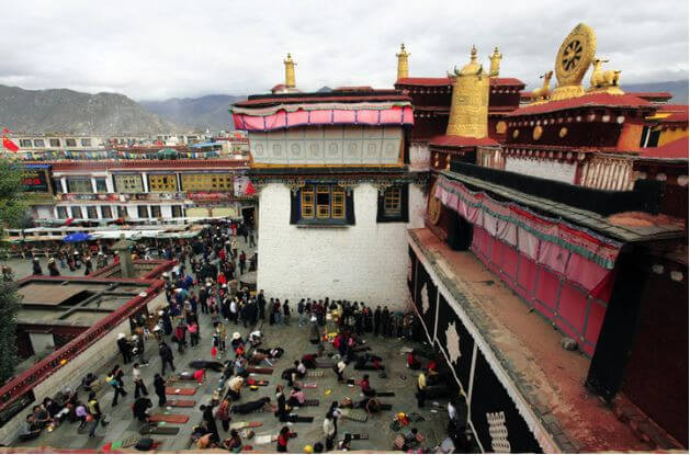Sightseeing tour in Lhasa, Potala Palac
