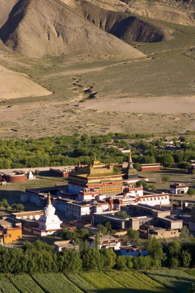 Visit Samye monastery and then drive to