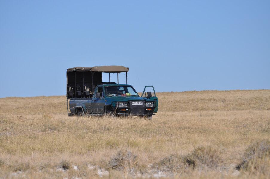 Drive to Makgadkgadi Salt Pans