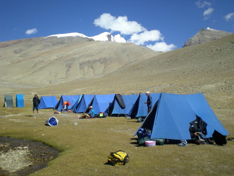 Start trek from Ganden to Lheipu-Yamado