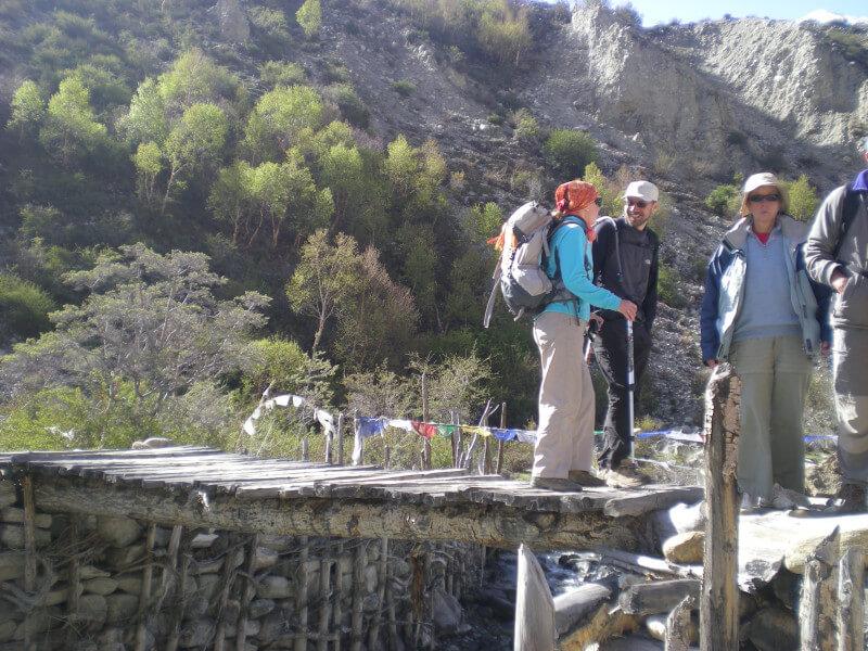 Trek from Yamado to Tso Topchu valley.4-