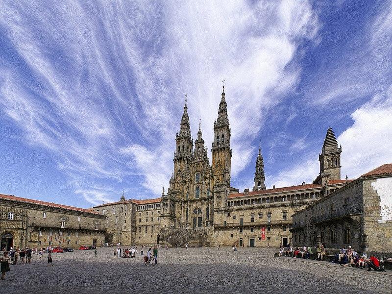 French Way. O Cebreiro to Santiago de Compostela