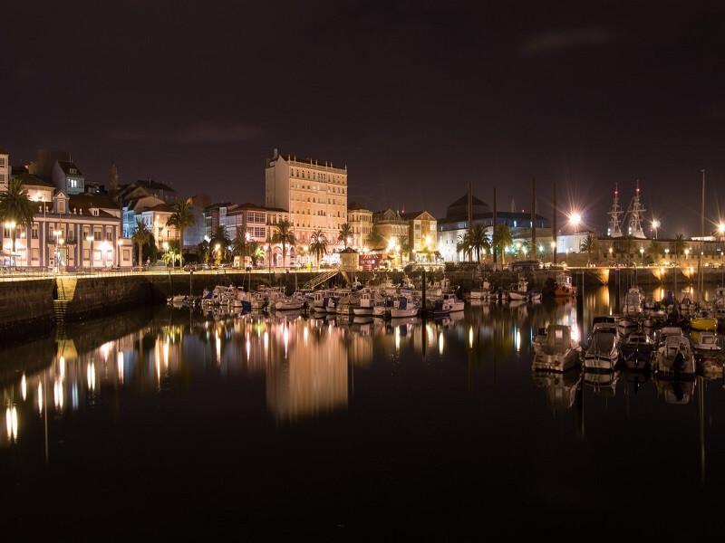 Arrival at Ferrol