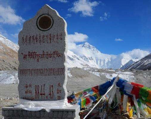 Two hrs trek from Rongbuk to Everest Bas