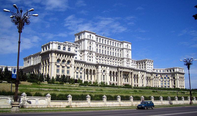 Arrival in Bucharest