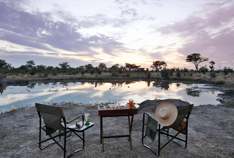 In the heart of Chobe National Park