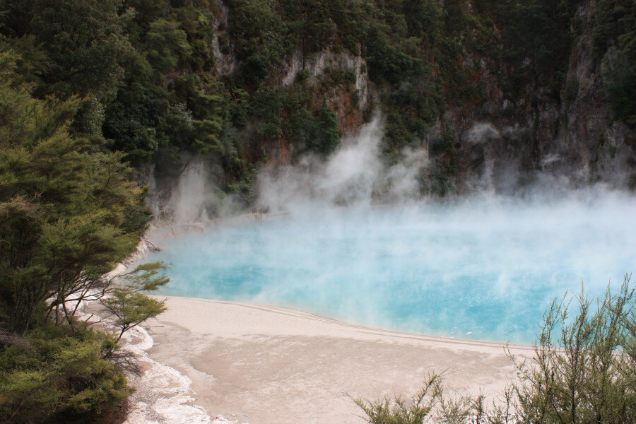 Auckland to Wellington Adventure - From Geysers to Volcanos