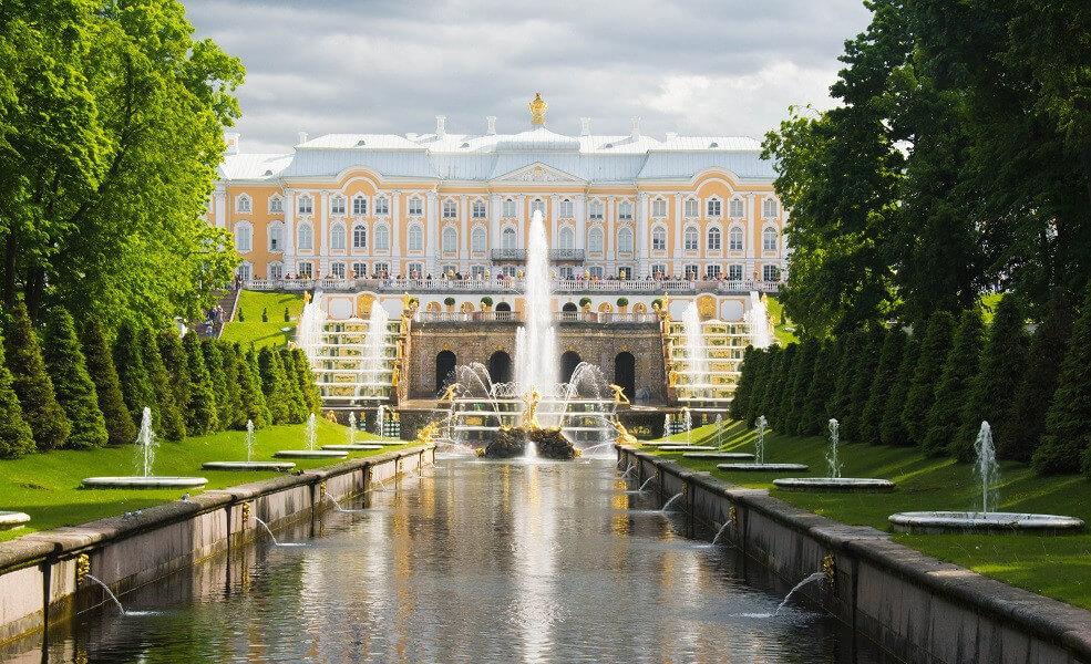 Peterhof Lower Gardens