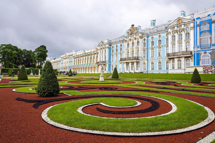 Tsarskoye Selo, Cartherine Palace & Park
