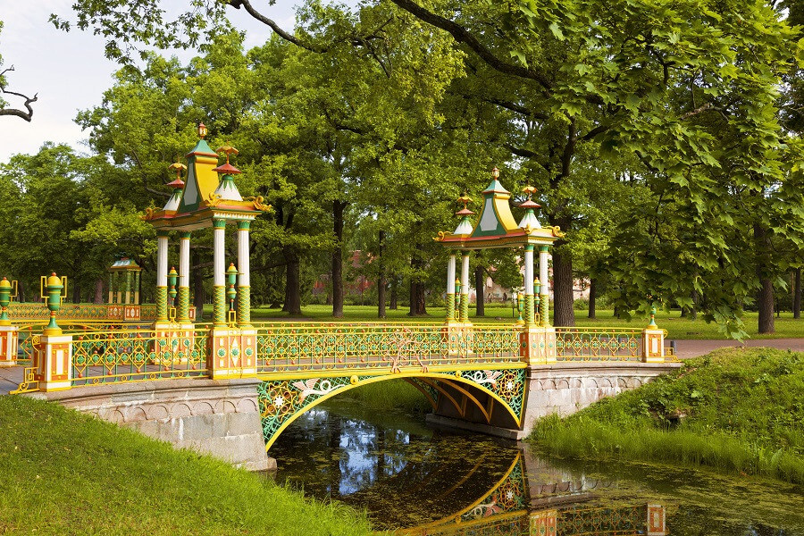 ST.PETERSBURG PARKS AND GARDENS OF PETER THE GREAT