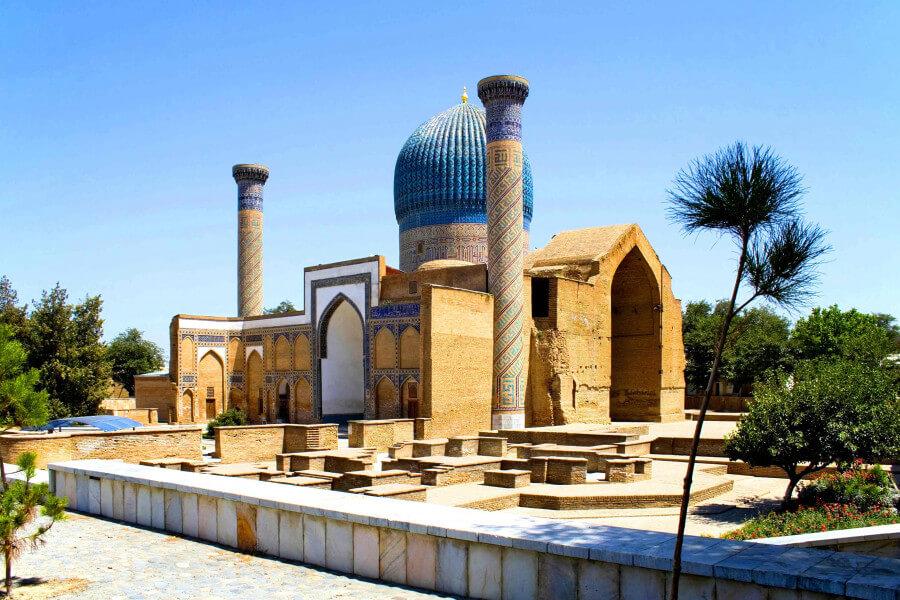 Tashkent to Samarkand