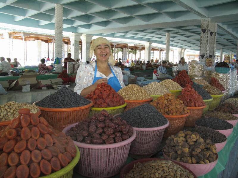 Stopover in Uzbekistan