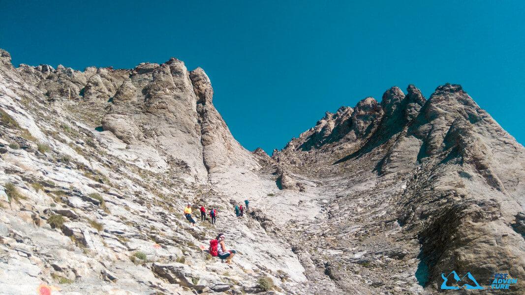 Highest peaks of Balkan