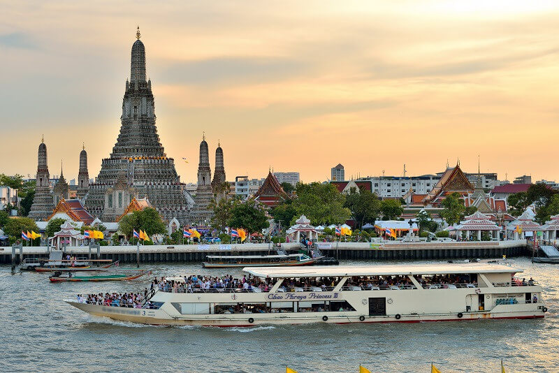 8 Days Bangkok and Ancient Capitals