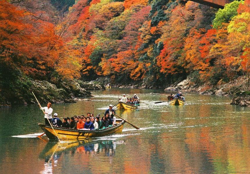 Shinkansen to Kyoto & River Cruise