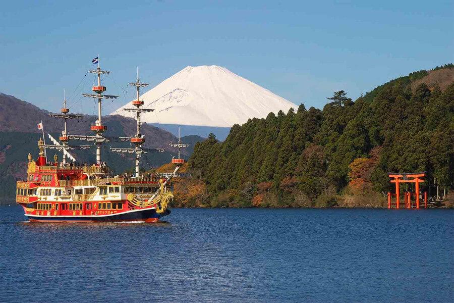 Hakone and Mt Fuji, Hot Springs Bath
